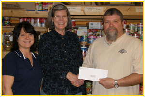 $500 Donation to the Culpeper Food Closet